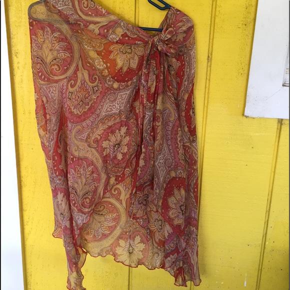GAIAM Dresses & Skirts - GAIAM Silk Skirt, NEW!